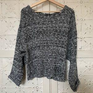Cozy Sweater Open Back